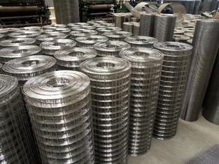 304 316SS Square Welded Wire Mesh Rolls,1/2''×1/2''welded wire mesh factory price