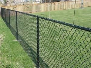 Metal Frame Galvanized Chain Link Fence Panels With 2-2.5mm Wire Diameter