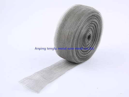 Corrosion Resistant Stainless Steel Knitted Wire Mesh For EMI Shielding Devices